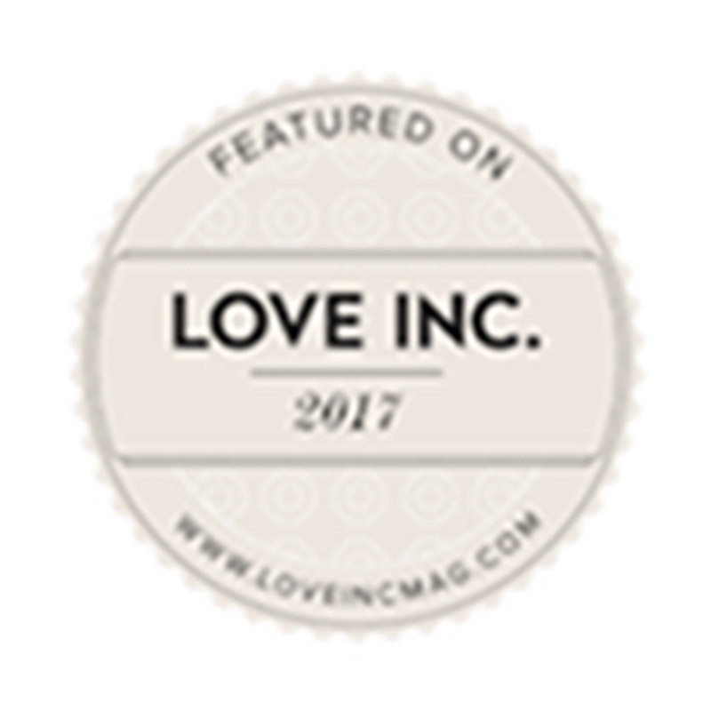 Featured on Love Inc. 2017