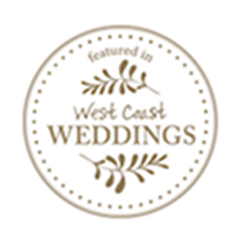 Featured in West Coast Weddings