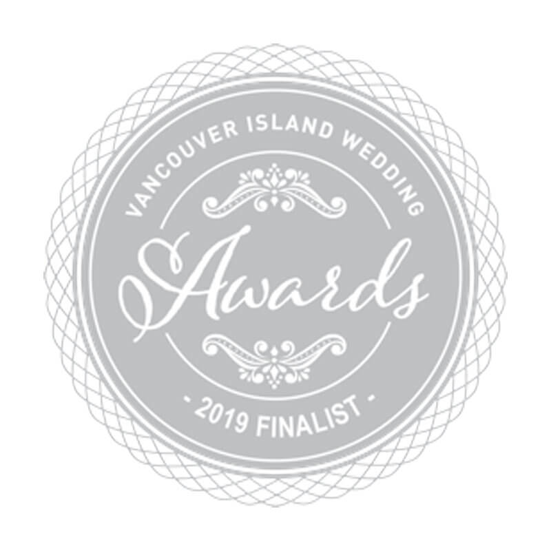 Vancouver Island Weddings 2019 Finalist