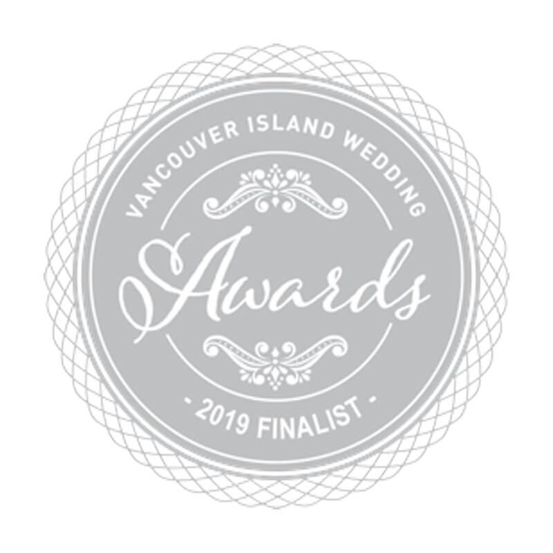 Vancouver Island Weddings 2019 Finalist