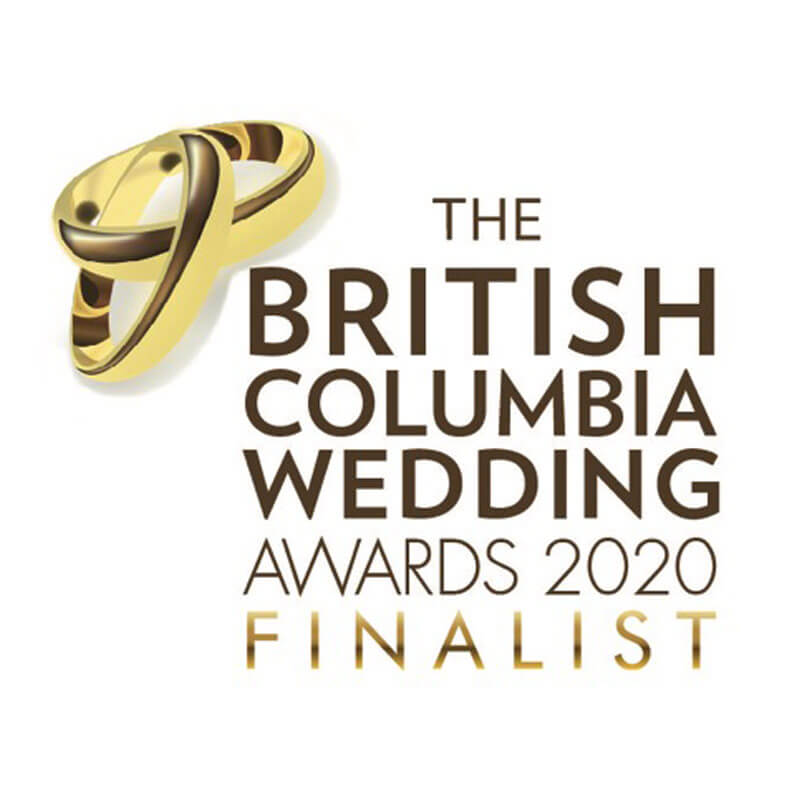 British Columbia Wedding Awards 2020 Finalist