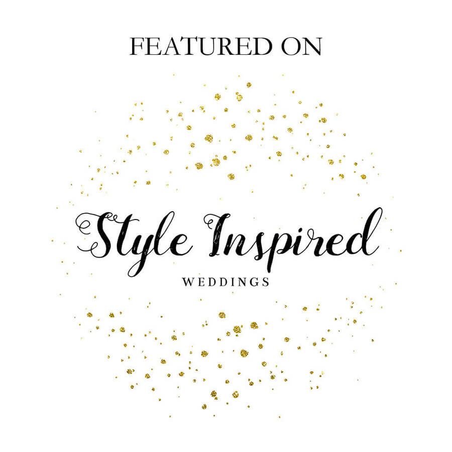 Featured in Style Inspired Weddings